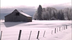 McCall Area Winter 2 Stock Footage
