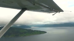 Aerial Alaska Islands Stock Footage