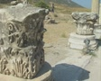 View of Ephesus ruins Footage