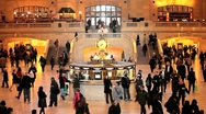 Stock Video Footage of USA, New York City, Manhattan, Grand Central Station, main Terminal