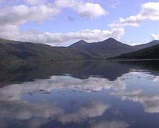 Ben More Loch Scridain Isle of Mull Scotland - stock footage
