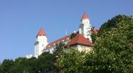 Bratislava Castle Stock Footage