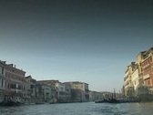 Stock Video Footage of Venice Grand Canal and under Rialto Bridge