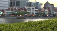 Stock Video Footage of Singapore River, Boat Quay