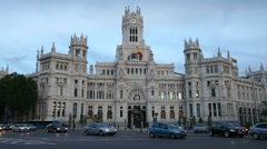 Madrid, Spain Stock Footage