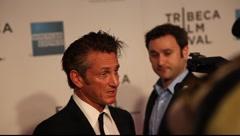 Sean Penn - stock footage