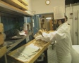 Venice Chef prepares food in the kitchen Footage