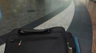 Airport Luggage Garage Time Lapse POV Stock Footage