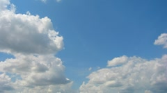 Clouds Time-Lapse Stock Footage