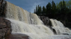 Gooseberry Falls Stock Footage
