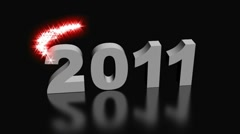 New year 2012 - stock footage