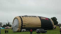 Hot air balloon fiesta 7233 Stock Footage