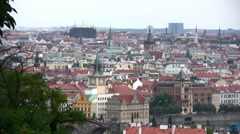 Prague Old Town Towers (Stare Mesto) Stock Footage