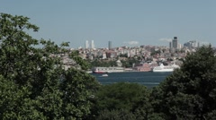 Instanbul view Stock Footage