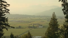 Fraser Valley Farms, Canada - stock footage