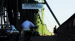 Hawthorne Bridge Stock Footage