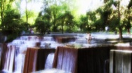 Stock Video Footage of Lovejoy Fountain Park
