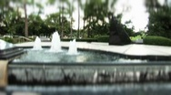 Stock Video Footage of Science Fountain Houston