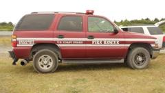 U.s Coast Guard Fire Rescue Vehicle(HD)c Stock Footage