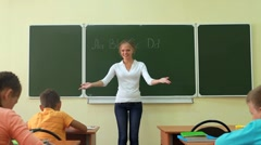 Dear teacher Stock Footage
