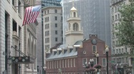 Stock Video Footage of Old Sate House in Boston