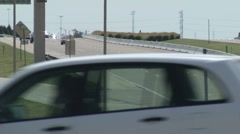 George Bush Tollway3-Pond 5 Stock Settings HD Stock Footage