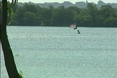 Lake Ray Hubbard2-Pond 5 Stock Settings NTSC Stock Footage