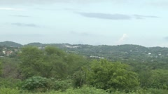 Mountain View Extreme Long Shot Stock Footage