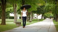 Campus Students 2289 Stock Footage