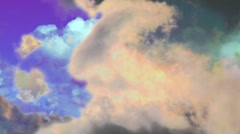 Psycho Radioactive Chaos Clouds2 Stock Footage