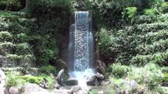 waterfall - shatin, hong kong - stock footage