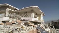 Destruction following the massive earthquake in Haiti, Stock Footage