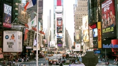 Times Square HD Stock Footage