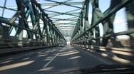 Tullner Donaubrücke Stock Footage