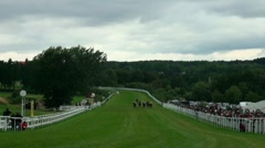 Horse Race 20110816-135313 Stock Footage