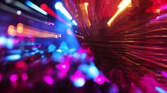 Night club glitterball disco Stock Footage