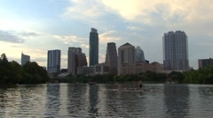 SKYLINE - Austin,TX - HD - stock footage