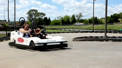 Go carts Stock Footage
