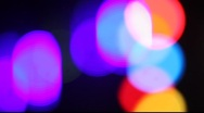 Coloured lights Stock Footage