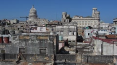 Capitol in Havana Stock Footage