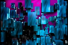 Chroma720 cubewall left Stock Footage