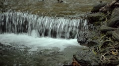 Short Waterfall With Audio Stock Footage