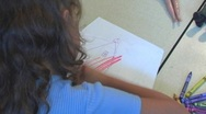 Little Girl In Family Therapy 3 Stock Footage