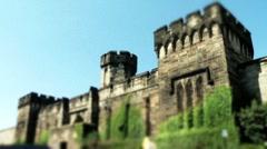 Eastern State Penitentiary Philadelphia Stock Footage