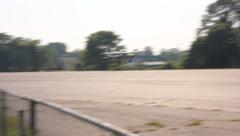 Cesna 172 landing Stock Footage
