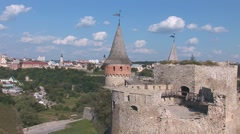 Old Fortress 14 Stock Footage