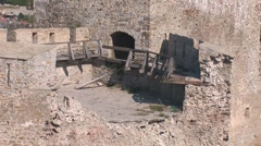 Old Fortress 15 Stock Footage