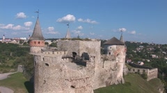 Old Fortress 12 Stock Footage