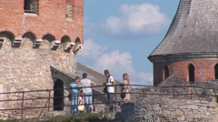 Old Fortress  11 Stock Footage