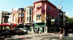 South Street in Philadelphia - stock footage